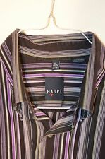 Haupt Of Germany Men's Shirt Size XL Long SLeeve Button Collar Cotton 43/44 17.5