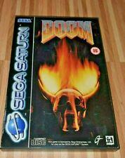 Doom - Sega Saturn - Komplett!