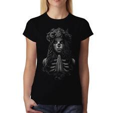 Dead Girl Prayer Womens T-shirt XS-3XL