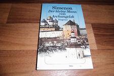 Georges Simenon -- der KLEINE MANN von ARCHANGELSK // Diogenes 1978