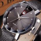 Men's Luxury Stainless Steel Quartz Analog Military Boys Sport Dial Wrist Watch