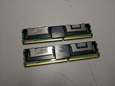 Kingston 4GB (2x2GB) FB-DIMM ECC DDR2-800 (400 MHz) PC2-6400 KVR800D2D8F5K2/4G