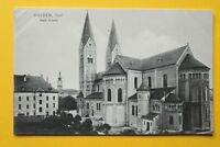Bayern AK Weiden i d Opf 1905-20 OPF Kath. Kirche Architektur Straße Häuser  (1