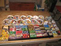 Überraschungsei Ü-Eier Figuren Sammlung Konvolut ca. 1000 Stück Kunststoff