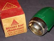 1950's NOS Schwinn Delta rocket ray bicycle light green panther balloon tire