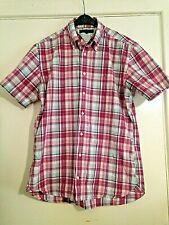 Tommy Hilfiger Red Check Shirt Size Medium