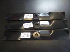 "NEW 3 Pack Mower Blades John Deere 54"" GX21380 GY20684 G110 D170 LA150 LA175"