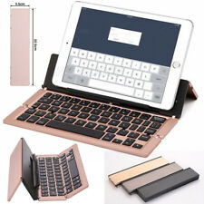 Wireless Bluetooth Folding Keyboard Mini Foldable Keypad For Tablet Phone PC