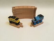 Thomas The Tank Engine Wooden Talking Thomas Train ~7 Curved Track Plus More !