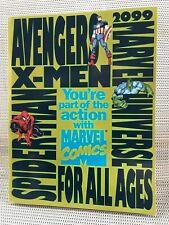 1994 MARVEL COMICS PUBLISHING PLAN : NM rare Retaliers Seminar book, X-men 2099