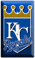 KANSAS CITY ROYALS KC BASEBALL MLB SINGLE LIGHT SWITCH WALL PLATE COVER MAN CAVE