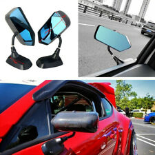 2x Rainproof Mirror Manual Adjustable Side Rearview Mirror For Racing Car Drift