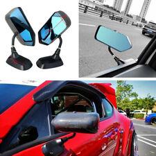 2x Rainproof Mirror Manual Adjustable Side Rearview Mirror For Racing Car Drift