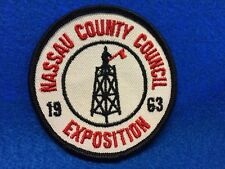 Boy Scouts - 1963 Nassau County Council, NY  Exposition patch