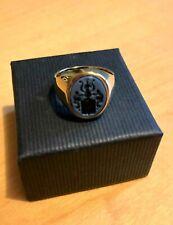 Ring 585 Gold Wappenring Lagenstein Siegelring Herrenring