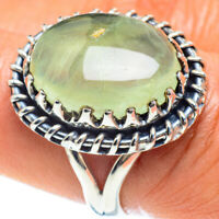 Prehnite 925 Sterling Silver Ring Size 8 Ana Co Jewelry R58958F