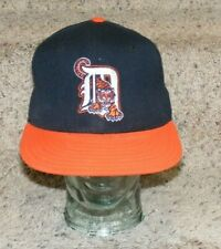 Detroit Tigers, game used hat, #14 A J Sager Waking Tiger Style