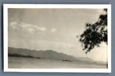 Japan, Miyajima, June '34  Vintage silver print.  Tirage argentique  7x