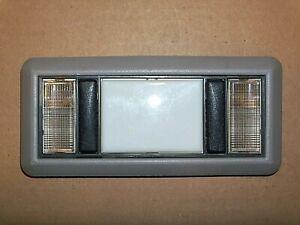 Chevrolet GMC C/K Truck Suburban Dome Map Light +Bezel Assembly  Lt GRAY 88-98