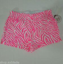 SO... Pink-White Zebra Shorts Juniors size M (NEW)