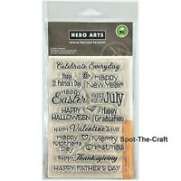 Hero Arts Celebrate Everyday Clear Stamps CL498