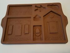 Longaberger Pottery Gingerbread Holiday Home 1997 pre-owned #34720