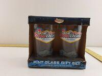 Vintage 2 Pack Coors Light Beer Pint Glasses 16 Oz Las Vegas Special Edition
