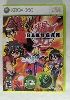 Bakugan: Battle Brawlers Microsoft XBOX 360 Game Tested and Working!