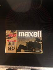 Maxell XLII 90 Min 135m High Bias Audio Cassette Tape Sealed NIB