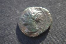 Antica Grecia CARTAGINE PUNICA Coin 2nd secolo A.C. Cavallo