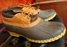 True Vtg 80s 90s USA MADE Men's LL Bean Maine Low-top Hunting Duc k Boots 10M