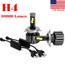 USA H4 9003 HB2 120W 10000LM CREE LED Headlight Kit Hi/Lo Beam Bulbs 6000K