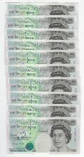 Gill Stephenson Five Pound £5 Banknote 1990 First Series A-- From Unc Run B357