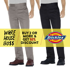 DICKIES PANTS 874 MENS ORIGINAL FIT WORK PANTS FORMAL WORK UNIFORM TROUSER PANTS