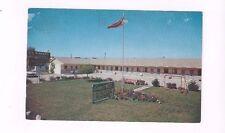 CANADA Windsor Ontario vintage chrome post card Kinnee's Motel