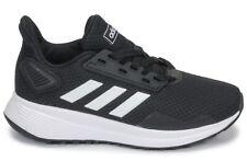 ADIDAS DURAMO 9 K scarpe donna uomo sportive sneakers tela tessuto running nero