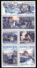 """SWEDEN 1903a - Swedish Mining Industry """"Booklet Pane"""" (pa64178)"""