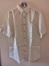 "(21) Men's NEXT Authentic Custom L 48"" white cotton shirt."