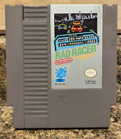 Rad Racer Nintendo NES-Tested-Authentic-Fast Free Shipping-Lots Of Fun