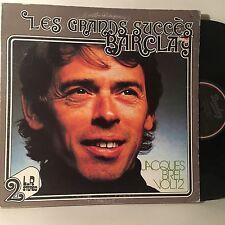 JACQUES BREL Les Grands Succes Vol 12 2-LP BARCLAY CANADA VG+ VINYL