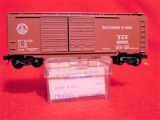KD 23040 (Blue Label 23157) BALTIMORE & OHIO 40' DD Box Car #298897 MINT N-SCALE