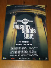 OCEAN COLOUR SCENE  -  2017  Australian Tour - Laminated Promotional Poster