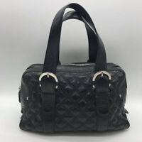 Michael Kors Black Leather Shoulder Bag