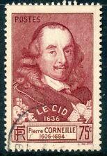 TIMBRE FRANCE OBLITERE N° 335 LE CID CORNEILLE