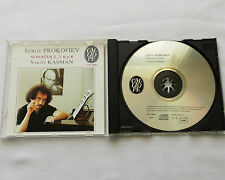 Yakov KAZMAN / PROKOFIEV Sonatas 2, 3,6 & 8 FRENCH CD CALLIOPE CAL 9606 (1993)