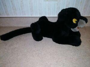 DISNEY JUNGLE BOOK BAGHEERA BLACK PANTHER STUFFED ANIMAL PLUSH TOY BEAN BAG