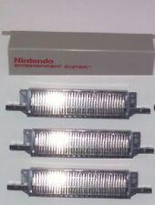 3 New 72 Pin Conectores & 1 Recambio Tapa Cubierta de Puerta para la Nintendo
