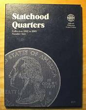 Statehood Quarters WHITMAN STORAGE BOOK - 2  - New - 2002 to 2005
