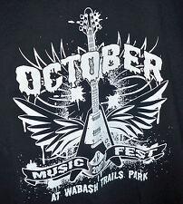 NWOT 2007 October Music Fest Wabash Trails Park XL Guitar & Wings