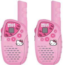 Hello Kitty KT2022 Mini FRS/GMRS 2 Piece Walkie Talkie Radio System Set NEW